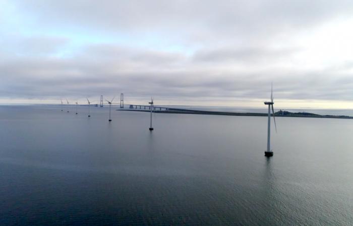 Sprogø Offshore Wind Farm - en av de mest berømte vindparkene i Danmark